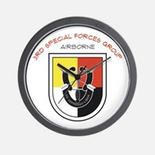3rd Special Forces Airborne Wall Clock