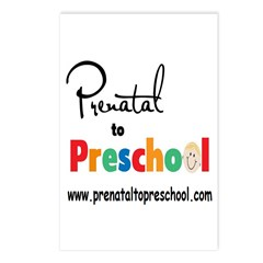 Prenatal To Preschool Postcards (Package of 8)