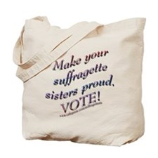 Suffragette Sisters Button 3.png Tote Bag