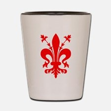 Giglio Firenze florence lys Shot Glass
