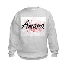 Amara Artistic Name Design with Fl Sweatshirt