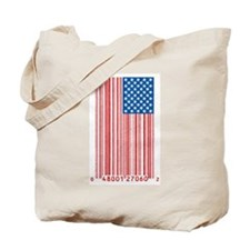 Barcode Flag Tote Bag