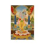 Krishna On Lotus Blossom Magnets (10 pack)