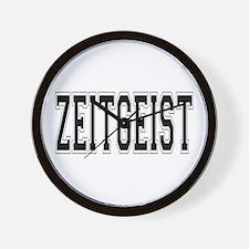 Zeitgeist Wall Clock