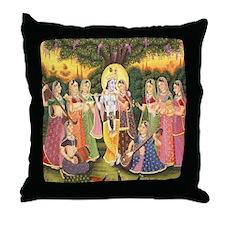 Divine Music Throw Pillow