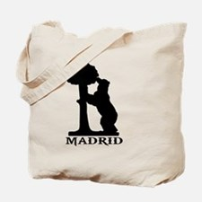 madrid orso bear Tote Bag