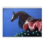 Cabart by Cindy Beck Wall Calendar