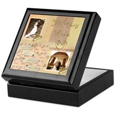 Cute Soldier love Keepsake Box
