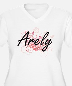 Arely Artistic Name Design with Plus Size T-Shirt