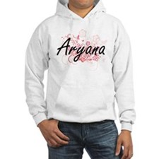 Aryana Artistic Name Design with Hoodie