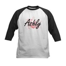 Ashly Artistic Name Design with Fl Baseball Jersey