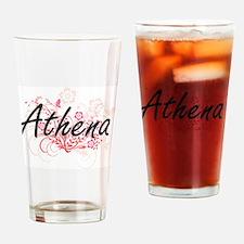 Cool Athena Drinking Glass
