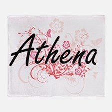 Unique Athena Throw Blanket