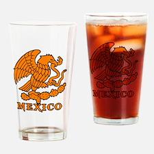 Cute Azteca Drinking Glass