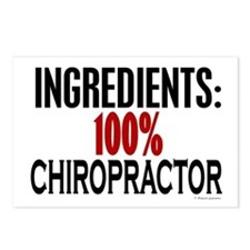 Ingredients: Chiropractor Postcards (Package of 8)