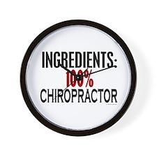 Ingredients: Chiropractor Wall Clock