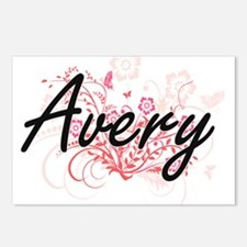 Avery Artistic Name Desig Postcards (Package of 8)