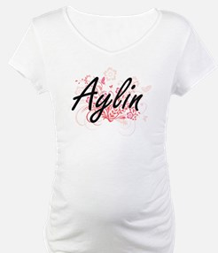 Aylin Artistic Name Design with Shirt