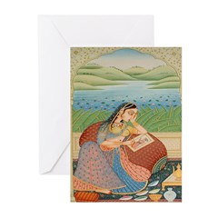 Painting Her Love Greeting Cards (Pk of 10)