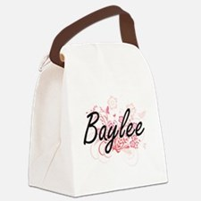Baylee Artistic Name Design with Canvas Lunch Bag