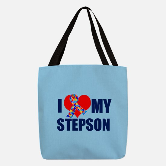 Autism Stepson Polyester Tote Bag