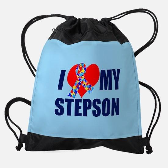 Autism Stepson Drawstring Bag