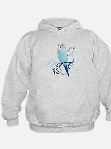Blue Parakeet Hoodie