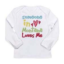 Cute Montana Long Sleeve Infant T-Shirt