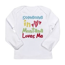 Unique Someone in bahamas loves me Long Sleeve Infant T-Shirt