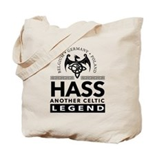 Hass Celtic Legend Tote Bag