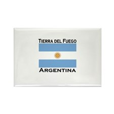 Tierra del Fuego, Argentina Rectangle Magnet