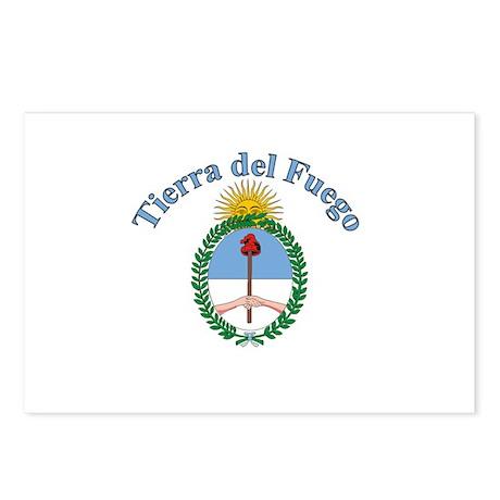 Tierra del Fuego, Argentina Postcards (Package of