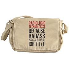 Radiologic Technologist Messenger Bag