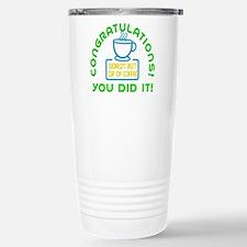 Congratulations You Did It Elf Classic Travel Mug