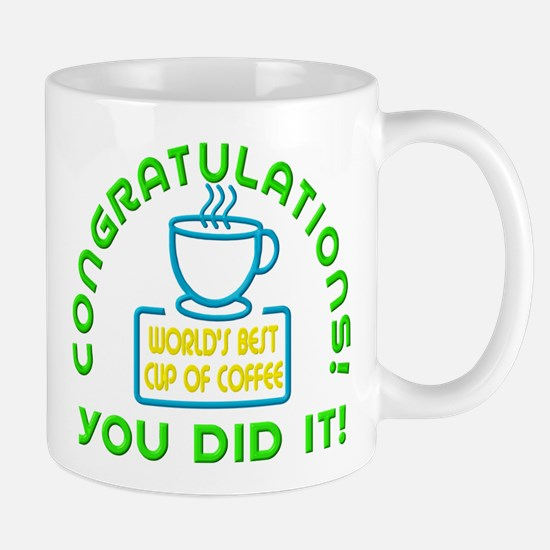 Congratulations You Did It Elf Classic Mugs
