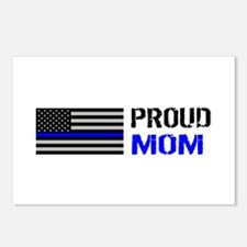 Police: Proud Mom Postcards (Package of 8)