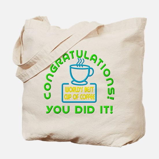 Congratulations You Did It Elf Classic Tote Bag