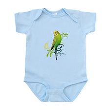 Green Parakeet Body Suit