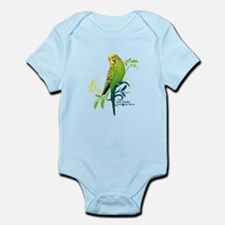 Green Parakeet Body Suit