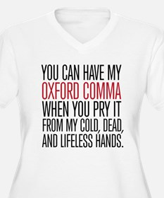 Oxford Comma Plus Size T-Shirt