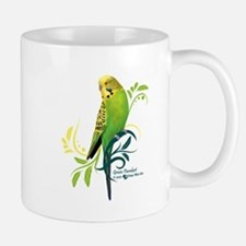 Green Parakeet Mugs