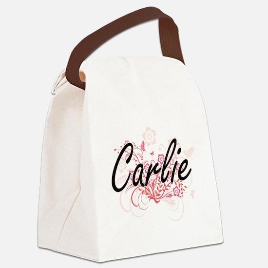 Cute Names Canvas Lunch Bag
