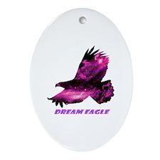 Unique Mens eagle Oval Ornament