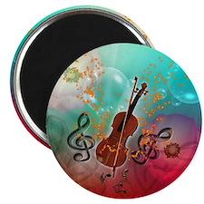 Violin with violin Magnets