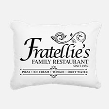 Fratellies Italian Famil Rectangular Canvas Pillow