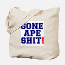 GONE APE SHIT! Tote Bag