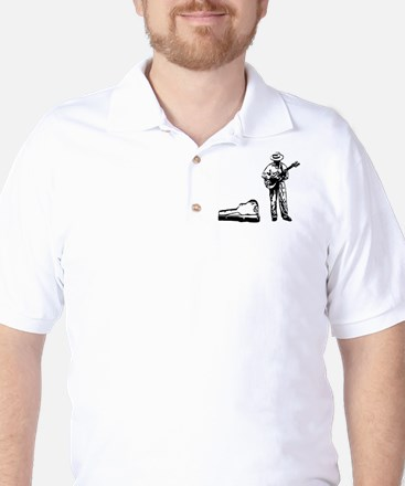 london busker Golf Shirt