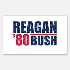 REAGAN-BUSH 80 Decal