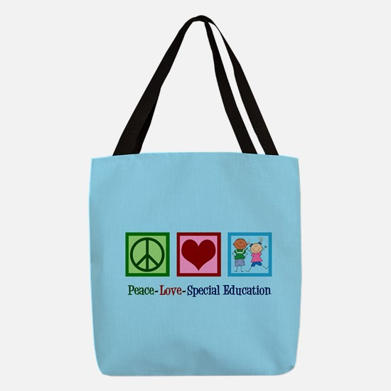 Special Education Teacher Polyester Tote Bag