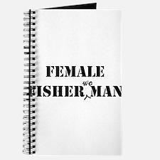 female fisherwoman Journal